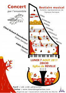 "Programme 2017 - ""Bestiaire musical"""
